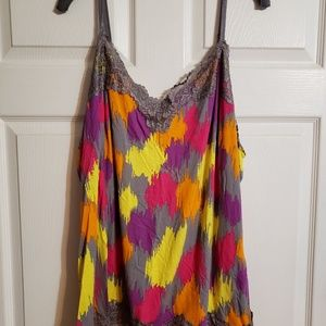 Lane Bryant cami in brights